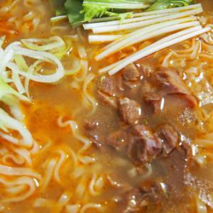 台湾のソウルフード牛肉麺「満漢大餐 珍味牛肉麺」を食べて台湾気分