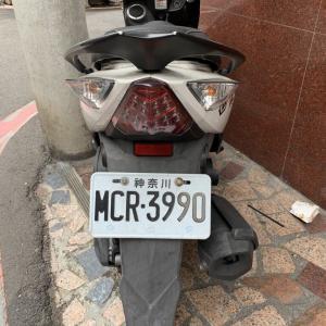 台湾で「神奈川」ナンバーのバイク発見!