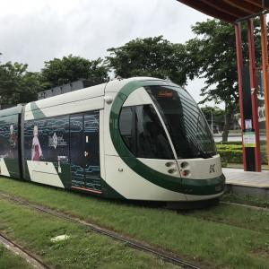 高雄LRT(ライトレール)新駅9ツ開業 凱旋公園&鼓山区公所まで延伸