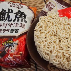 台湾で買った韓国インスタント麺「魷魚 海鮮味湯麺」イカちゃんぽん