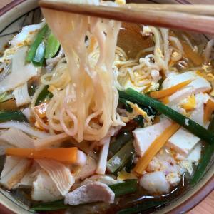ご褒美ラ王「酸辣湯麺」酸味も辛味も少なくマイルドだが美味しい袋麺