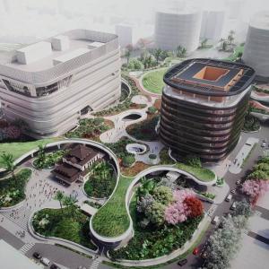 高雄駅旧駅舎が元の場所に戻った!駅周辺が全完成するのは2025年予定!