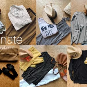 50代少ない服で作る5月のコーディネートまとめ