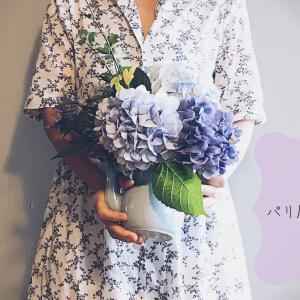 #花のある暮らし〜ブーケを作りとリラックスワンピ
