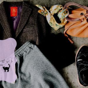 ジャケットのスウェットスカートコーデと春服計画