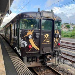 【草津線】忍者列車「SHINOBI-TRAIN」に乗る