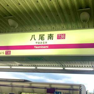 谷町線唯一の地上駅・八尾南駅を訪れる