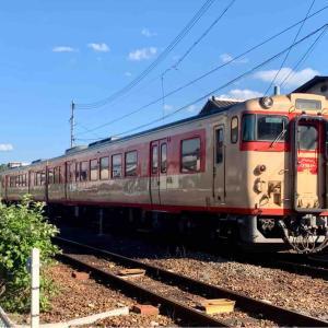 【ノスタルジー】津山線で運転されている国鉄急行色のキハ47系に乗る