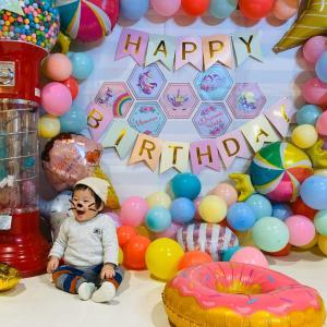 誕生日会とケーキ