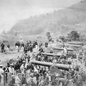 英米仏蘭四ヵ国艦隊による下関砲撃と三百万ドルの賠償金支払要求~~下関戦争2