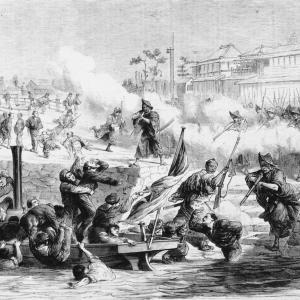神戸事件責任者処刑の六日後に起きた、土佐藩兵によるフランス兵殺傷事件~~堺事件