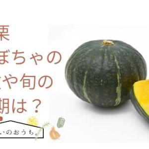黒皮栗かぼちゃの特徴や旬の時期!味は甘みがありホクホク系