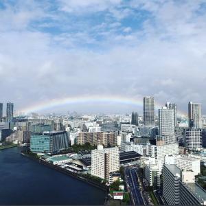 即位式の虹は日本の解放の徴と再建主義者