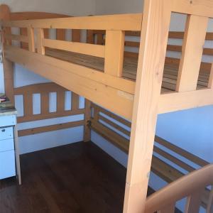 二段ベッドのその後。