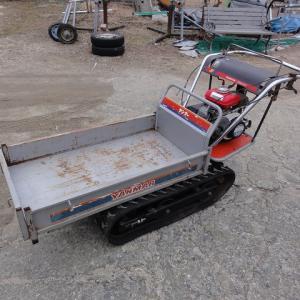 クローラー式運搬車の導入