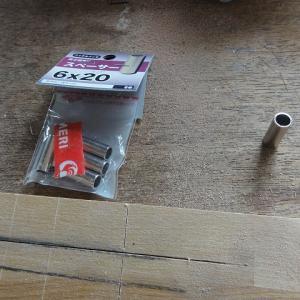 ダボ穴治具とダボ作り