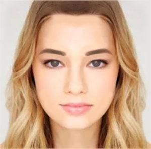 アイブロウメイク/眉の角度で変わる印象やイメージ