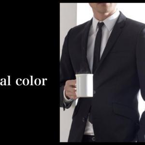 パーソナルカラータイプ別 / 男性のスーツ選びと、Vゾーンの作り方。イエローベース方。