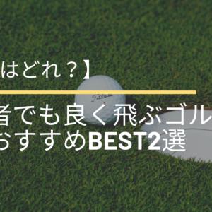 【最強はどれ?】初心者でも良く飛ぶゴルフボールおすすめBEST2選【2021年決定版】