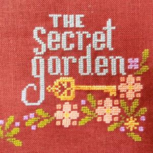 "『秘密の花園』SAL もね(๑′ᴗ‵๑)  ""Stitching Book Club: The Secret Garden"""