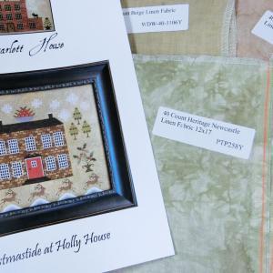 """ようやく届いたクリスマスもの """"Christmastide at Holly House"""" The Scarlett House"""