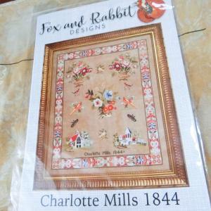 """もういっちょ新しいの! """"Charlotte Mills 1844"""" Fox & Rabbit Designs"""