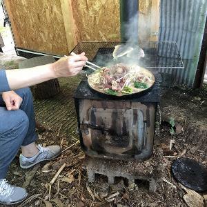 昭和なジンギスカン鍋