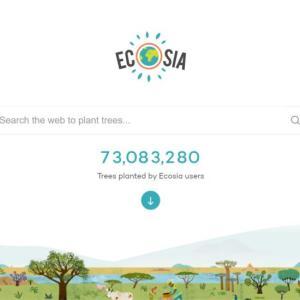 植林する検索エンジンEcosia(エコシア)で、楽しく検索しつつ環境保全に貢献