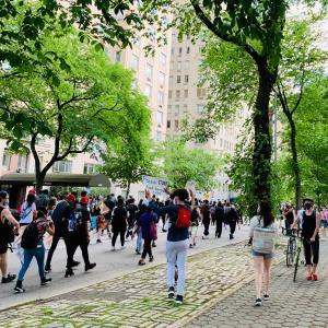全米に広がってるデモに遭遇