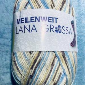 新しいコットン毛糸と輪針