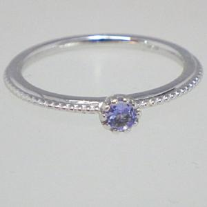 ♥K10 一粒 タンザナイト リング♥指輪