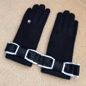 冬季限定♥オシャレ 令嬢 リボン 手袋♥グローブ レディース
