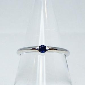 ❤︎ ≪シルバー925≫一粒 天然石リング【サファイヤ】❤︎指輪