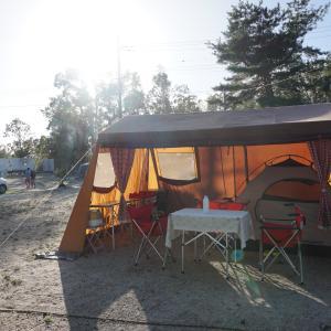 【2019年】湖畔キャンプが出来る、青柳浜キャンプ場の施設紹介