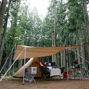 ひるがの高原で、新幕雨キャンプ!そして・・・