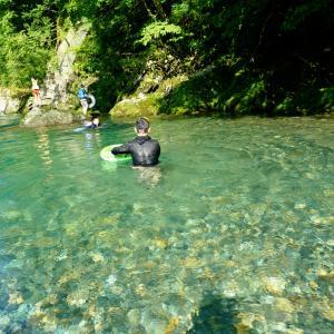 板取川と板取温泉が最高な、TACランドいたどりでの川遊びキャンプ
