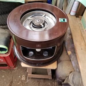 貰い物  火鉢 ストーブ 煮炊き 暖房 器具 昭和 レトロ
