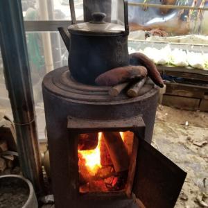 薪集め 薪ストーブと焼き芋