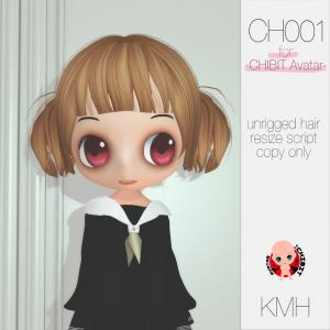 New Hair CH001/CH002/CH003 at CHIBIT COLLECTION -2019 winter-