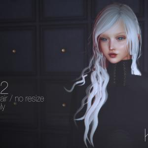 New Hair F132 at Aenigma