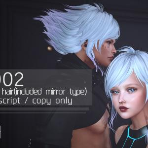 New Hair CP002 at CYBER Fair