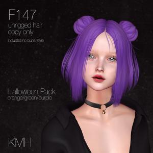 New Hair F147 at Panic of Pumpkin in Okinawa 2020
