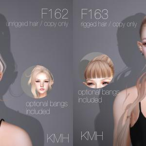 New Hair F162 and F163 at Fantasy Faire 2021