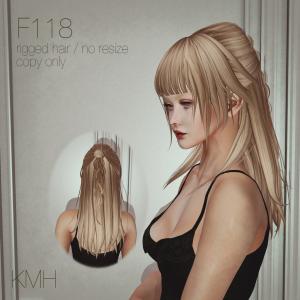 New Hair F118 at SaNaRae