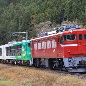 [2019/11/16] ED75 757牽引の風っこ仙山線紅葉号