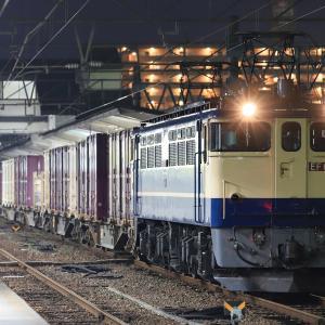 [2020/03/04] EF65 2070牽引の3072レ
