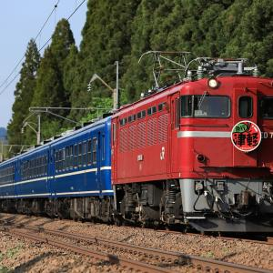 [2019/05/19] ED75 767牽引の急行津軽