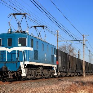 [2021/01/09] デキ105牽引の7305レ