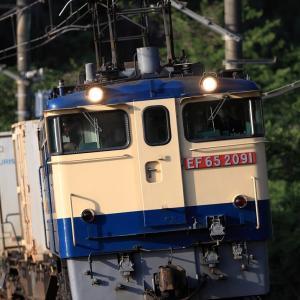 [2021/04/18] EF65 2091牽引の5086レ