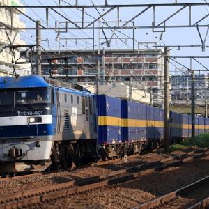 [2019/08/11] EF65 2057牽引の丸ノ内線甲種ほか